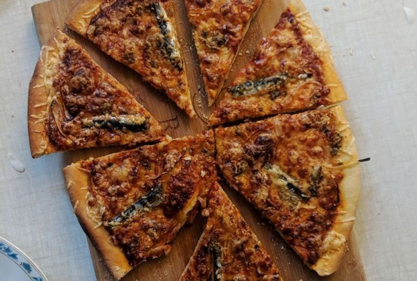 A yeast-free hack for homemade pizza dough
