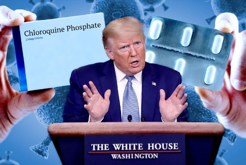 """Is Trump's much-touted chloroquine really a """"game changer"""" for COVID-19? Not exactly"""