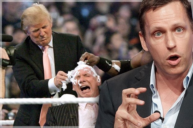 Peter Thiel pulls back the curtain: Donald Trump is a pro-wrestling villain turned president