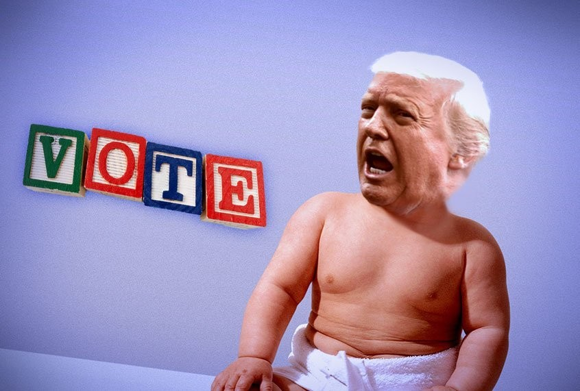 "Man-baby smashes democracy: Daniel Drezner on our ""Toddler in Chief"""