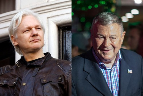 Did Trump try to bribe Julian Assange with a pardon? Well, he won't be impeached over it