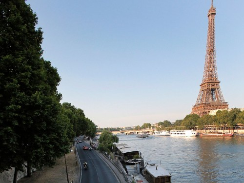 Greenway: Paris will turn highway along Seine river into a walkway