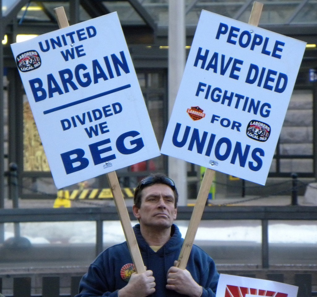 Right To Work - Magazine cover