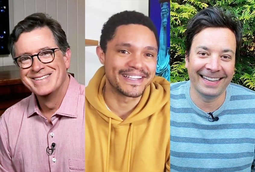"""How late night's """"Daily Show"""" alums are uniquely prepared to bring us through this moment"""
