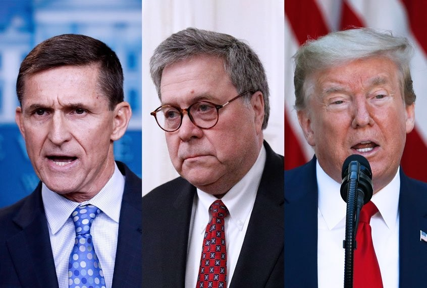 DOJ alumni sign legal brief opposing Bill Barr's scheme to drop criminal case against Michael Flynn