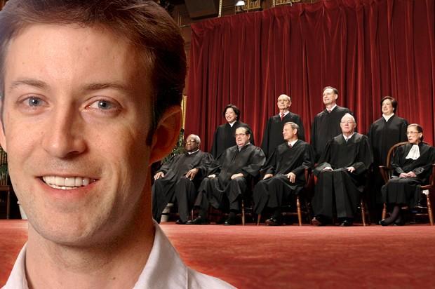 US Supreme Court - Magazine cover