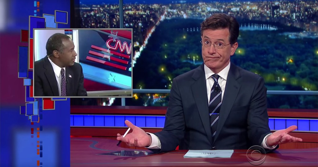 This Stephen Colbert joke just put Donald Trump's entire campaign in context