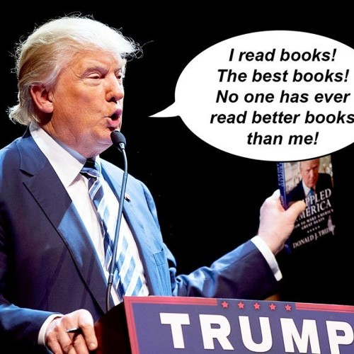 Trump's tremendous, totally real favorite books list