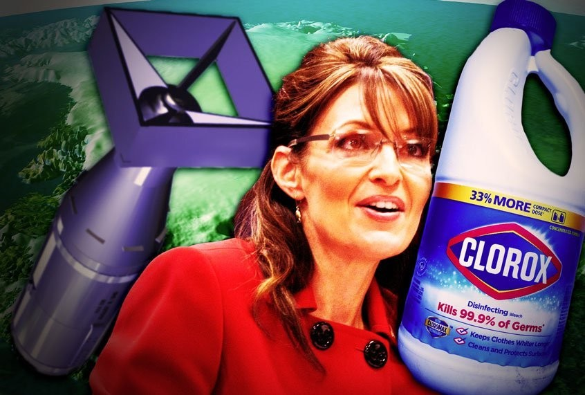 When Sarah Palin nuked Greenland and the president drank bleach: Who's to blame for this timeline?
