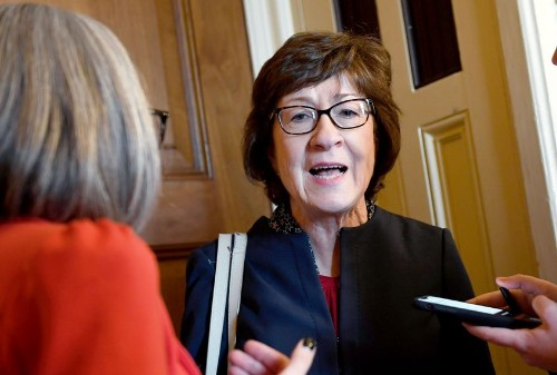 """Susan Collins flees from reporter when asked if she still believes Trump learned """"a very big lesson"""""""