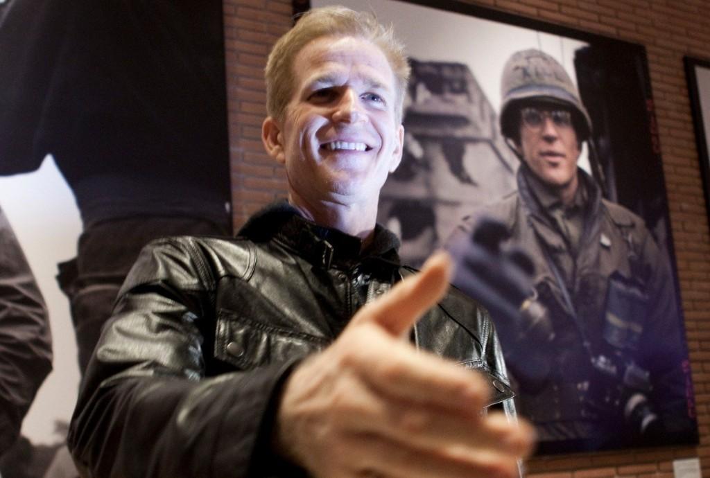 """Matthew Modine on America's love affair with guns & what people get wrong about """"Full Metal Jacket"""""""