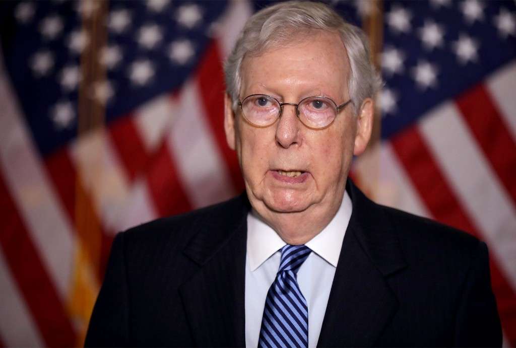Mitch McConnell has a playbook to destroy a Biden presidency — and it is already in the works