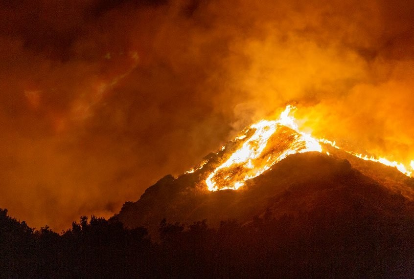Fires have now burned record 2 million acres in California this year