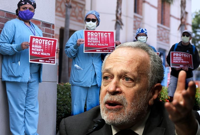 Robert Reich: A tale of two pandemics