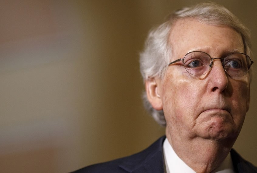 """McConnell won't renew bigger unemployment checks, because they """"make it more lucrative not to work"""""""