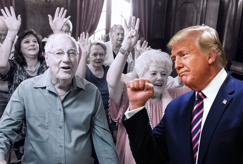 Trump is driving millions of American seniors into poverty