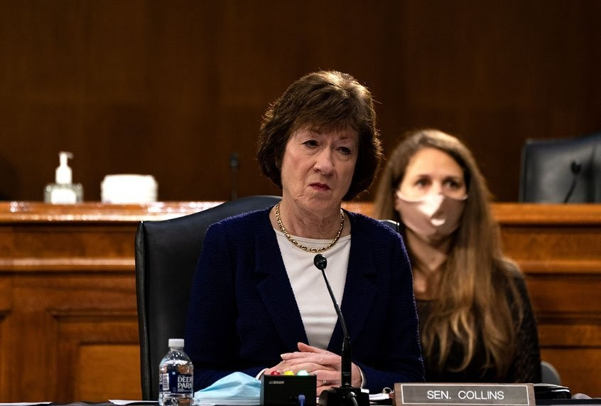 Sen. Susan Collins altered coronavirus relief legislation amid lobbying from longtime former aide