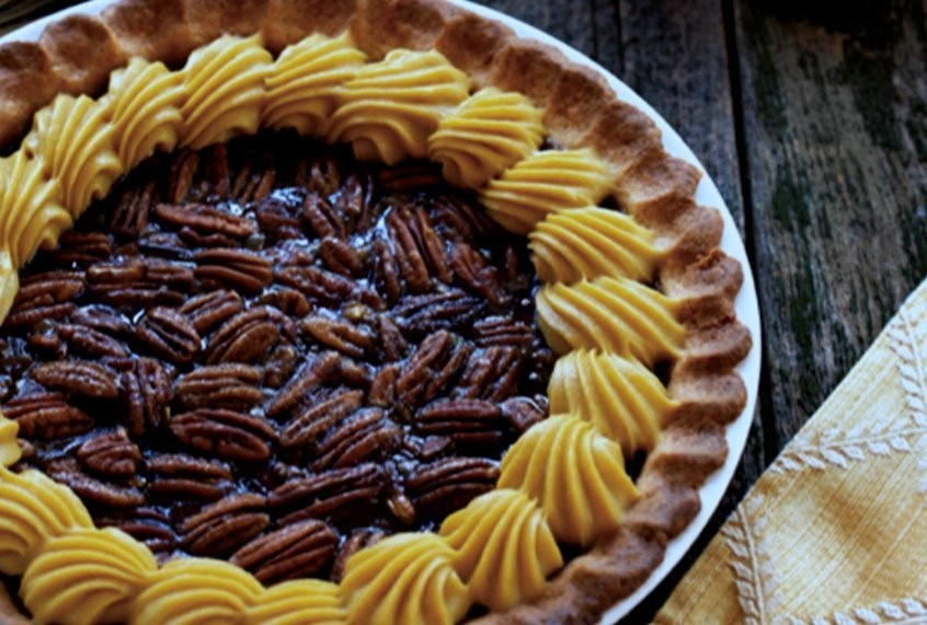 A delicious resolution to the pumpkin vs. pecan pie battle: Who says you can't make everyone happy?