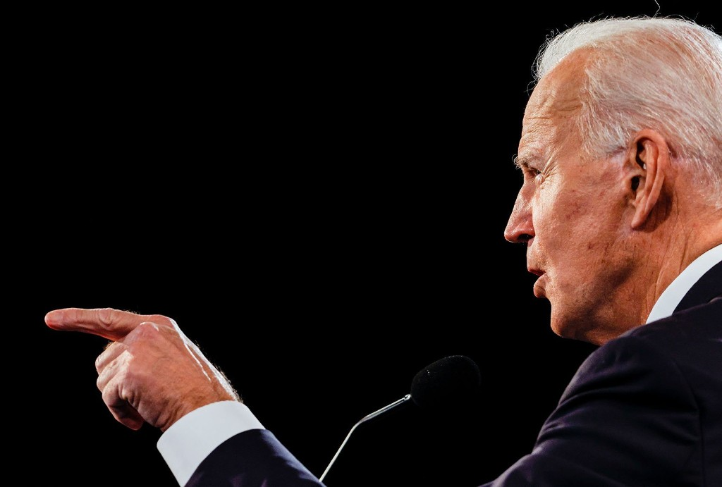 That should make him president: Joe Biden shows up — and shows he's learned the lesson of 2016