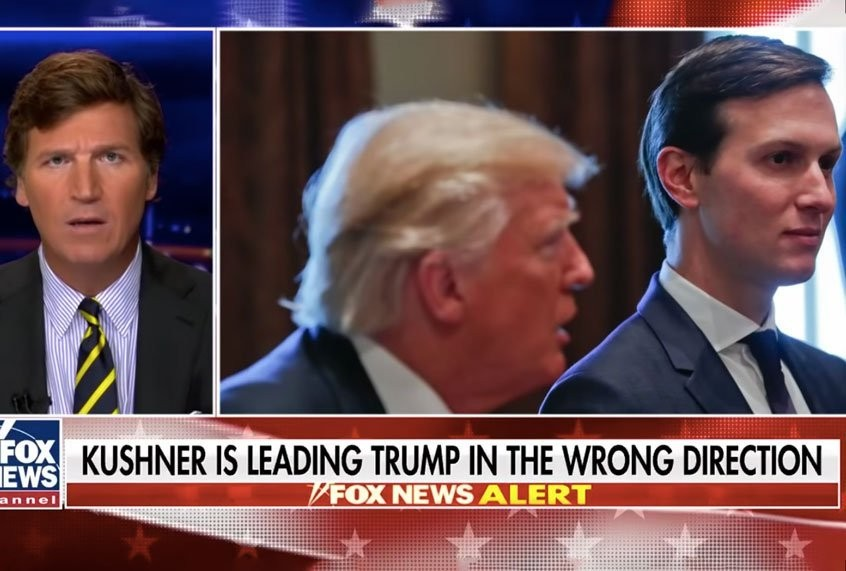 """Carlson blames Trump protest response on Jared Kushner: """"No one has more contempt"""" for Trump voters"""
