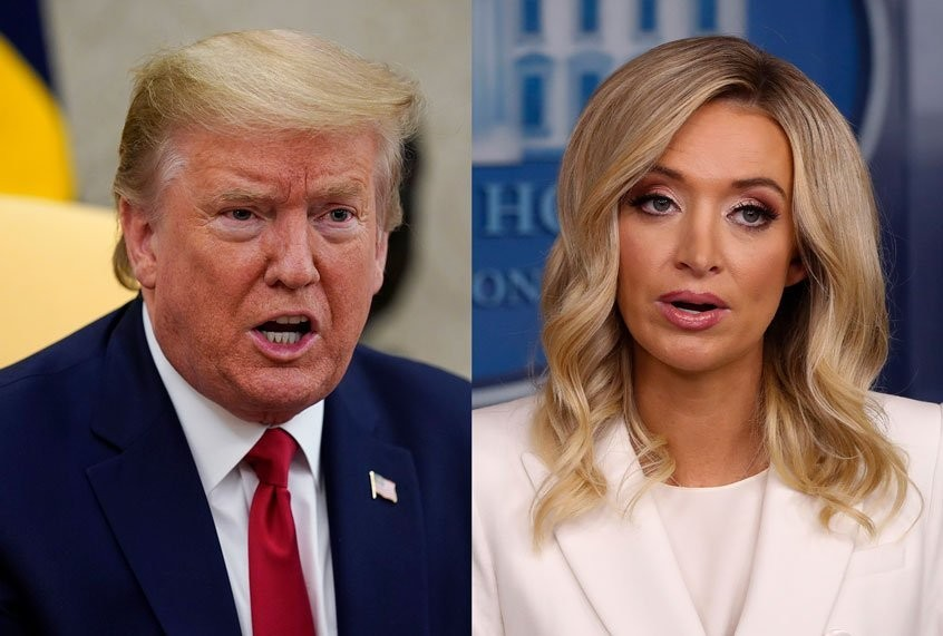 "Kayleigh McEnany called out on Fox News for her ""grotesque"" defense of Trump"