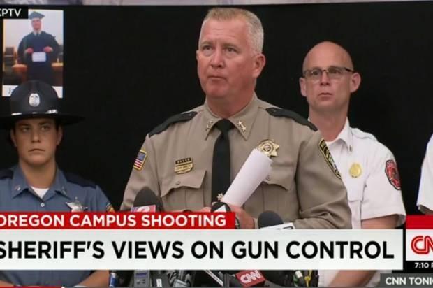 gun control - Magazine cover