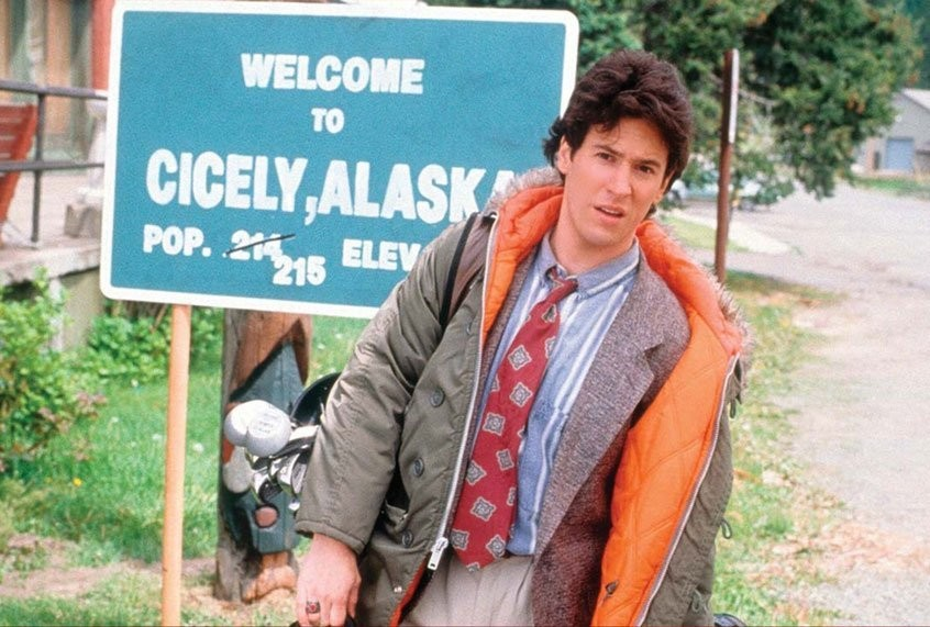 "30 years on, the magical realism of ""Northern Exposure"" is a gentle balm for our cabin fever"