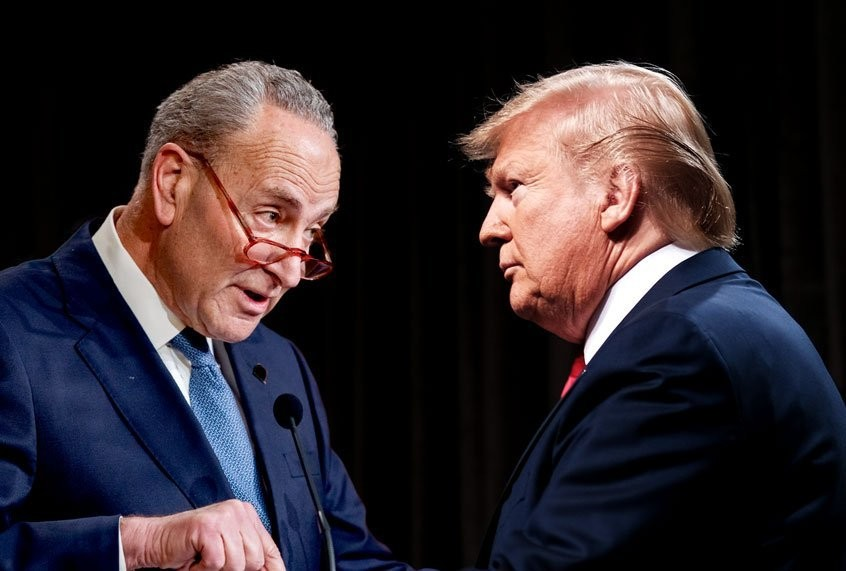 Senate Democrats issue all-hands-on-deck warning against Trump and GOP election threats