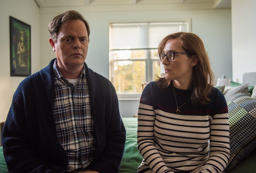 """Rainn Wilson opens up about life, death, """"Blackbird"""" and being """"#blessed"""""""