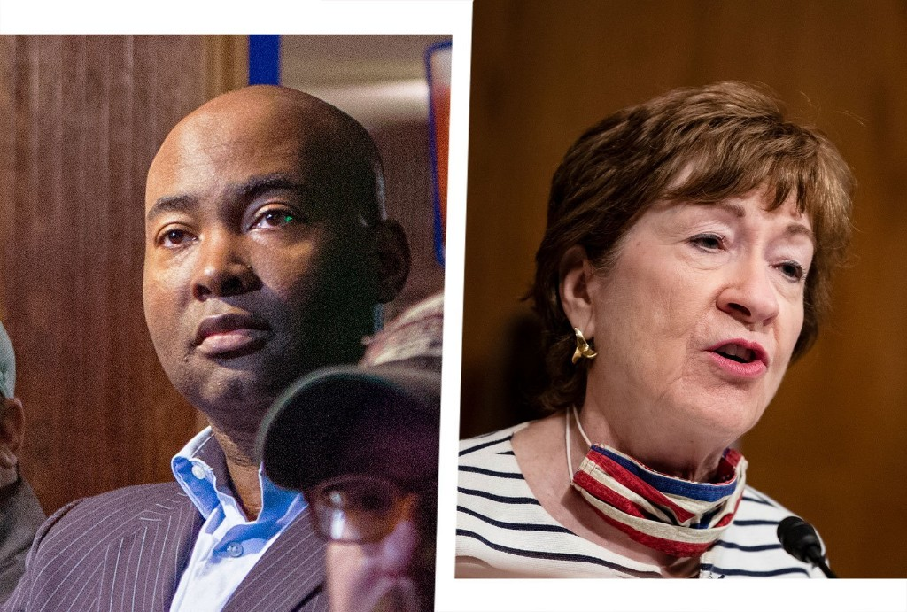Top election forecaster shifts Senate races away from Republicans Susan Collins and Lindsey Graham