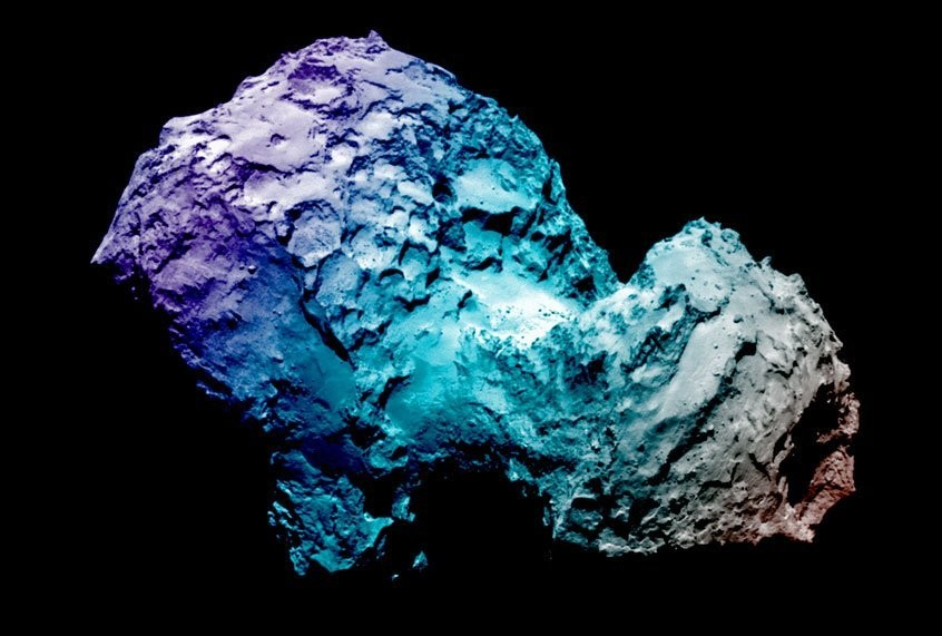 Comet chameleon? Here's why this nearby comet keeps changing colors