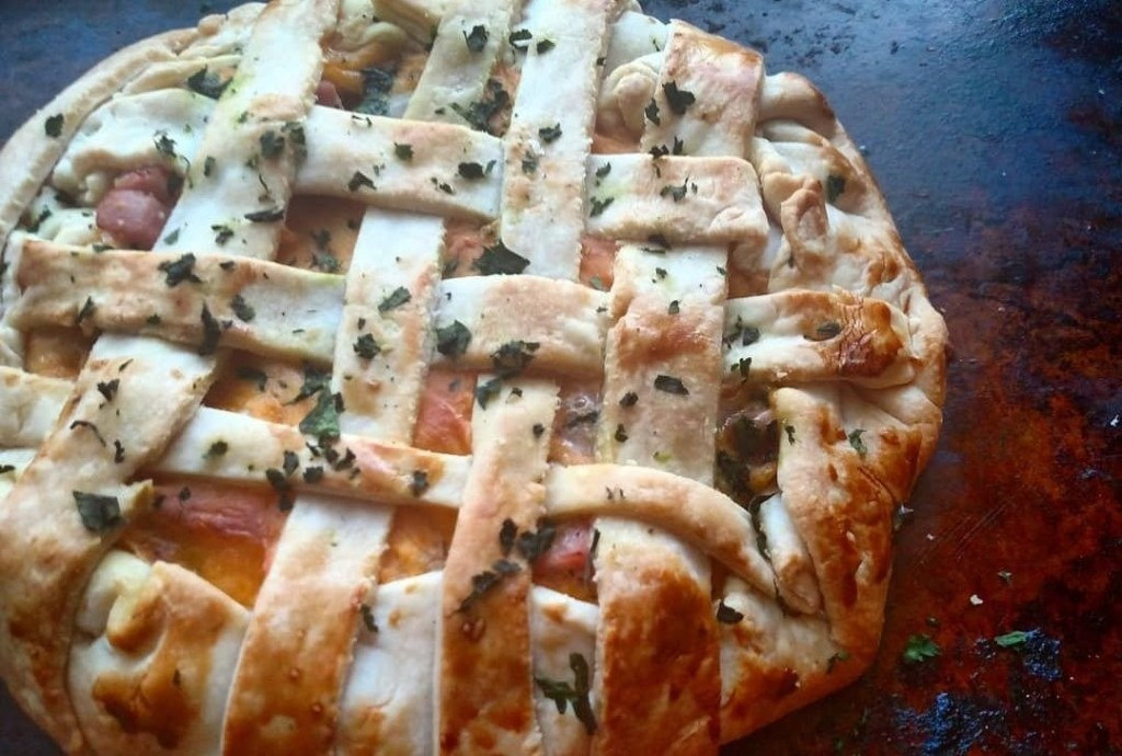 This simple ham and cheese galette is like a grown-up Hot Pocket