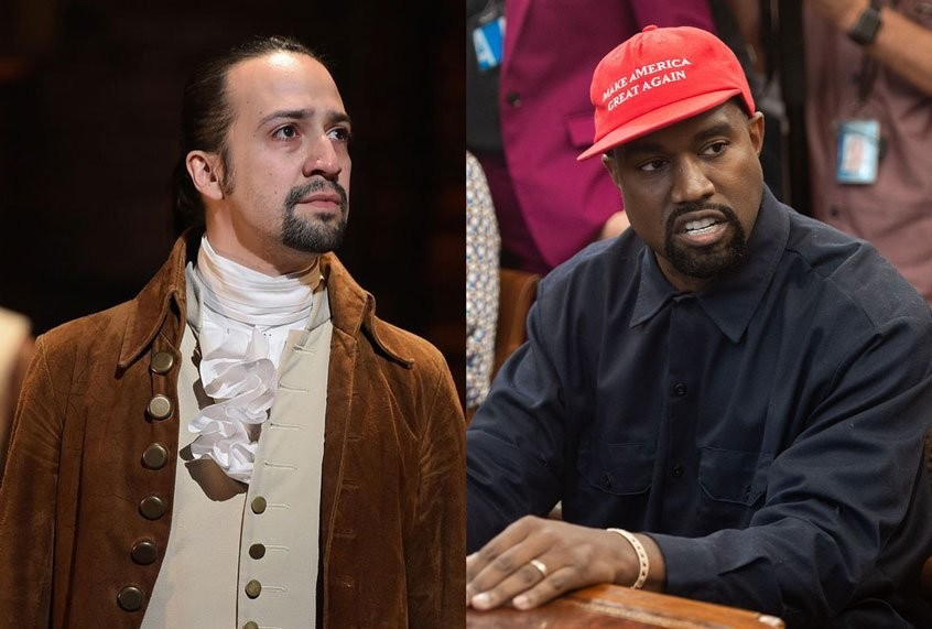 """Imagine Kanye's presidential bid not spoiling anything — """"Hamilton"""" parties or the election"""