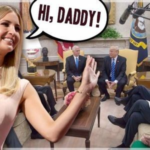 """""""Oh hi Ivanka"""": Finally, we know the least essential White House employee's real role"""