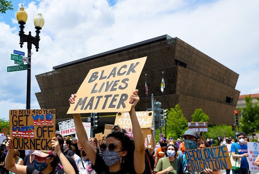 """African American history is American history"": Museum exhibits respond to Black Lives Matter"