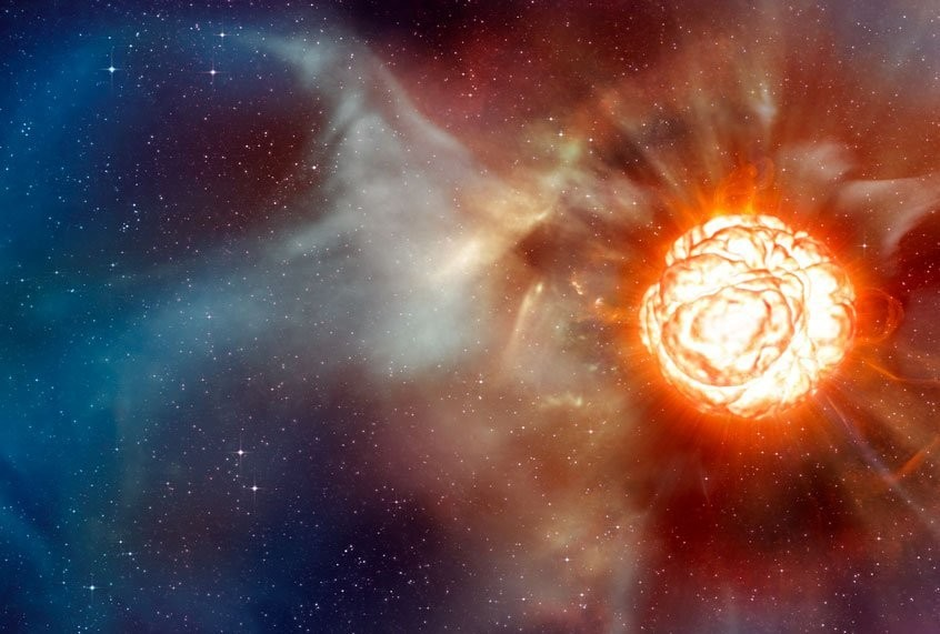 Betelgeuse is blowing up — on social media and maybe IRL