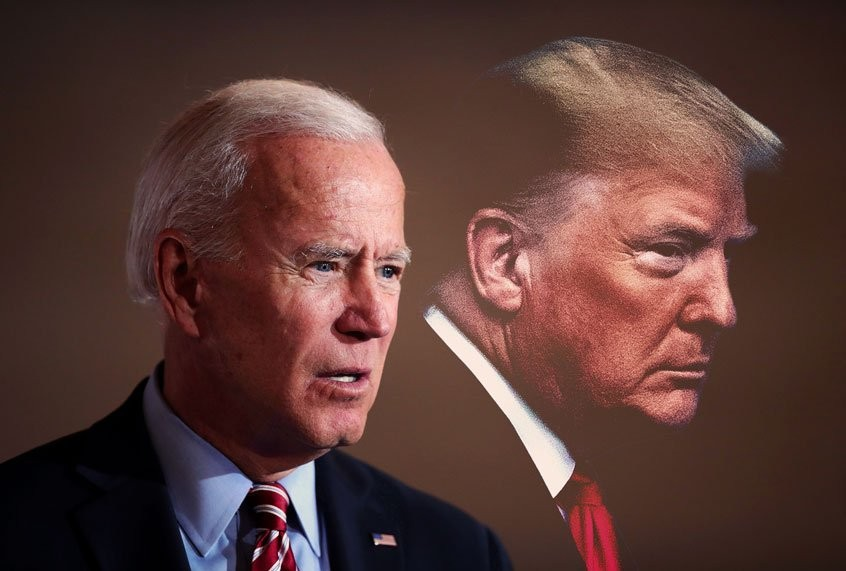 Joe Biden says he won't stand in the way of a possible prosecution of Trump