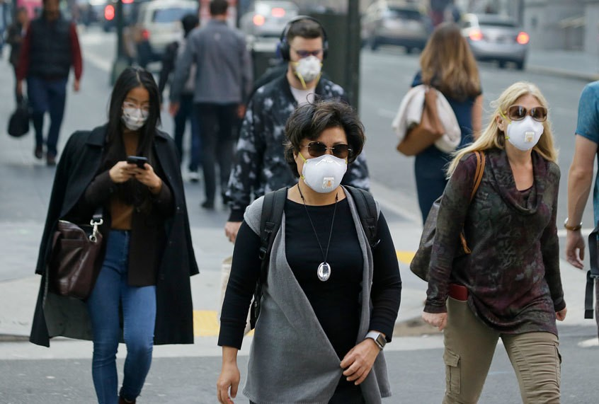 Californians are now lab rats for the long-term effects of toxic wildfire smoke