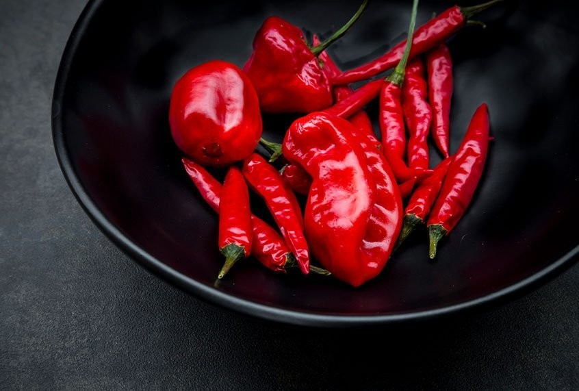 Want to live longer? Eat chili peppers, study says