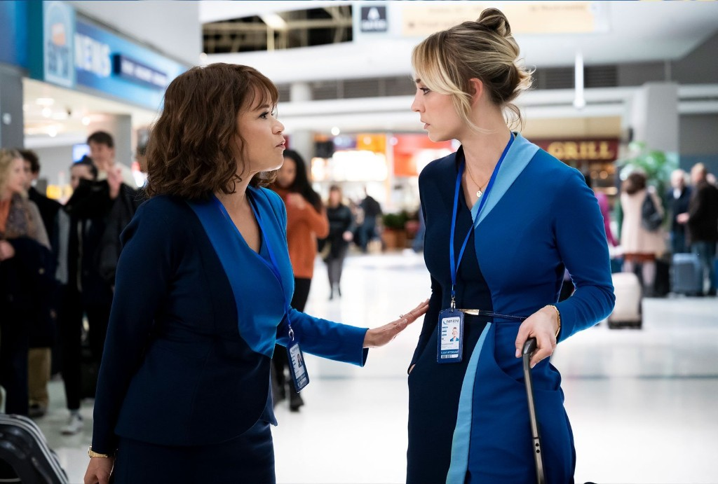 """""""The Flight Attendant,"""" Kaley Cuoco's new first class thriller, is a darkly satisfying ride"""
