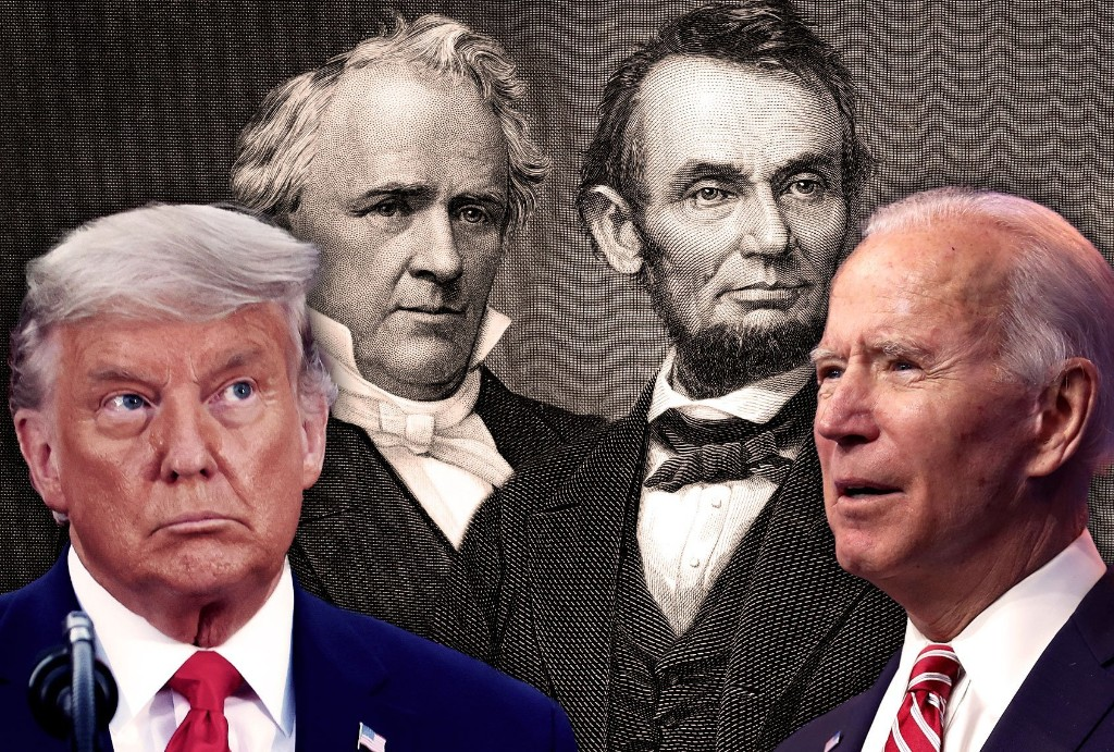 The last time an outgoing president refused to work with an incoming one, we had a civil war