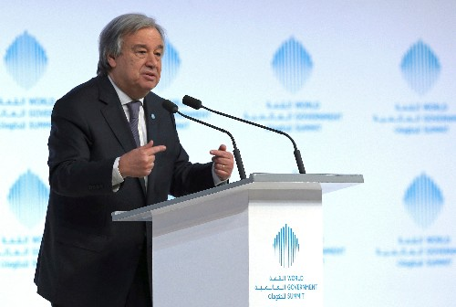 UN chief warns of coming recession for the planet due to COVID-19