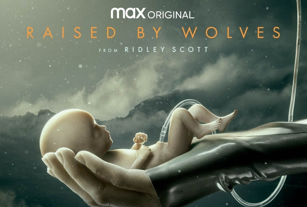 """Watch the trailer for Ridley Scott's U.S. TV directorial debut, sci-fi series """"Raised by Wolves"""""""