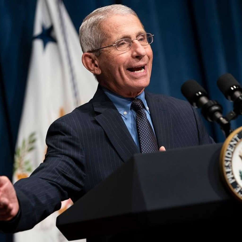 Anthony Fauci warns that anti-vaxxers could hinder fight against the coronavirus