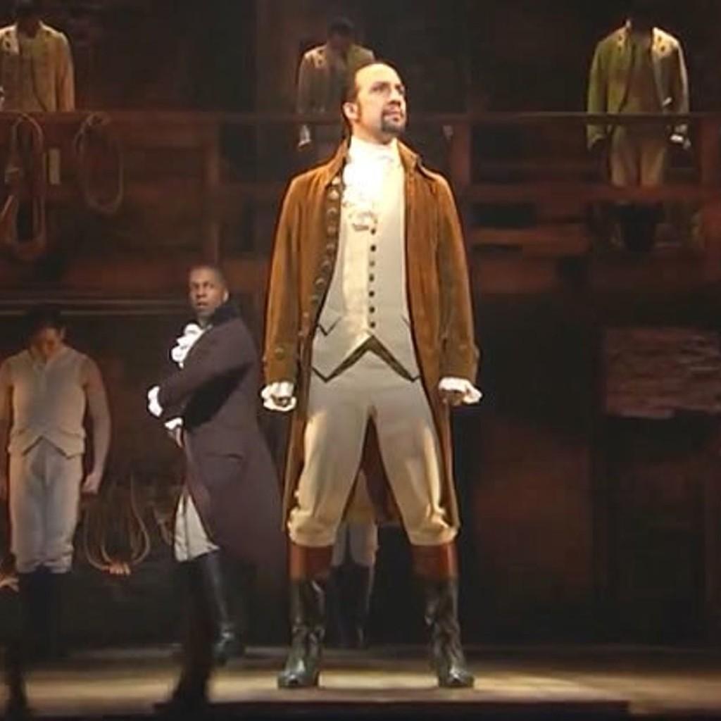 "Watch the original cast's Grammy-stealing performance of ""Alexander Hamilton"""