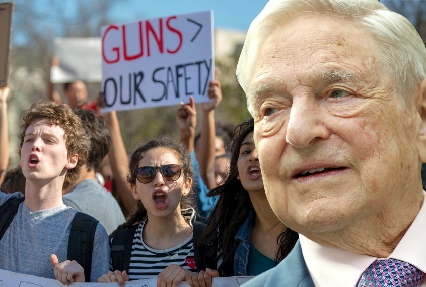 Republican elected officials are peddling a conspiracy theory that George Soros is paying protesters
