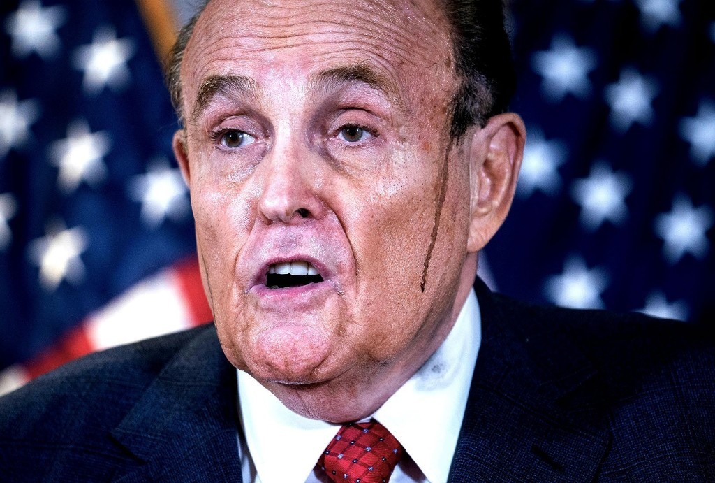 What is Rudy Giuliani doing now?