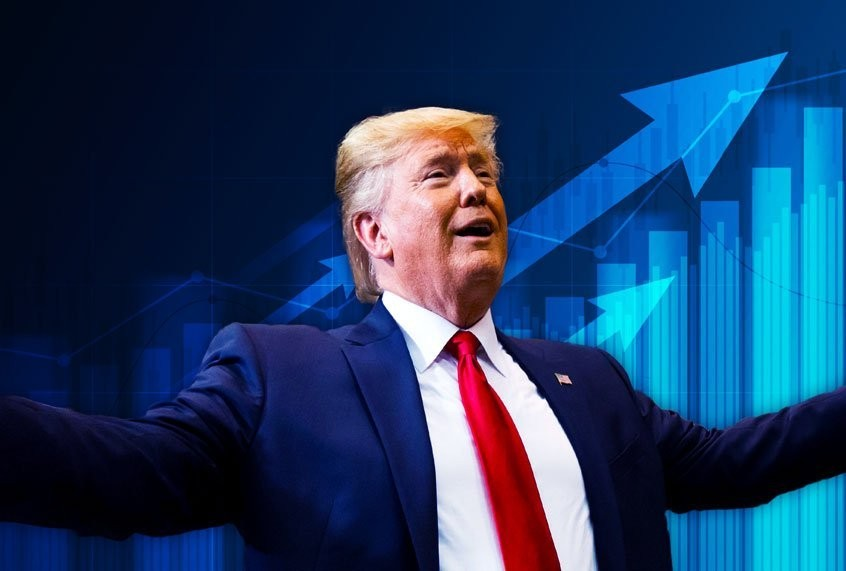 Why is the stock market soaring amid a pandemic? Because Trump thinks that may save him