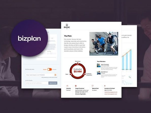 From Salon Marketplace: Build an impressive business plan with this drag & drop app