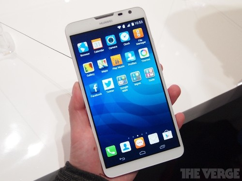 Huawei's huge Ascend Mate 2 4G works as an iPhone charger